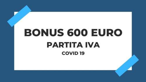 Bonus 600 Euro per le Partite IVA